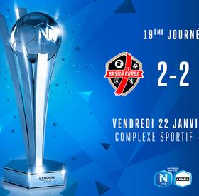 J19 | FC Bastia-Borgo - US Orléans (2-2)