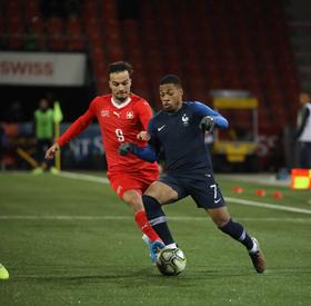 Suisse - France (3-1)