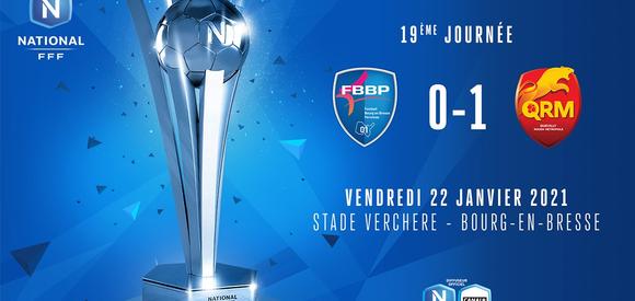 J19 I FBBP01 - Quevilly Rouen Métropole (0-1)
