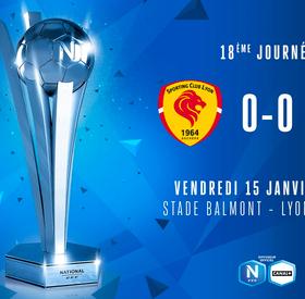 J18 I SC LYON - FC SETE (0-0)