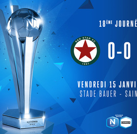 J18 | RED STAR - US BOULOGNE (0-0)