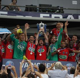 Les finales victorieuses du Paris-SG