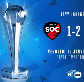 J18 | SO Cholet - FC Villefranche Beaujolais (1-2)
