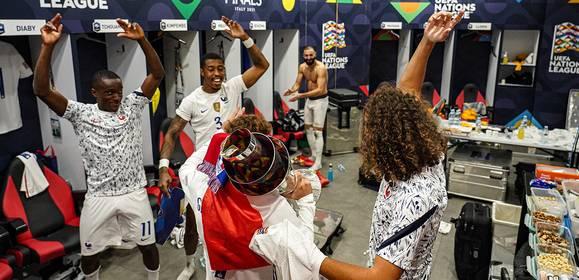 Les coulisses de la victoire en Nations League