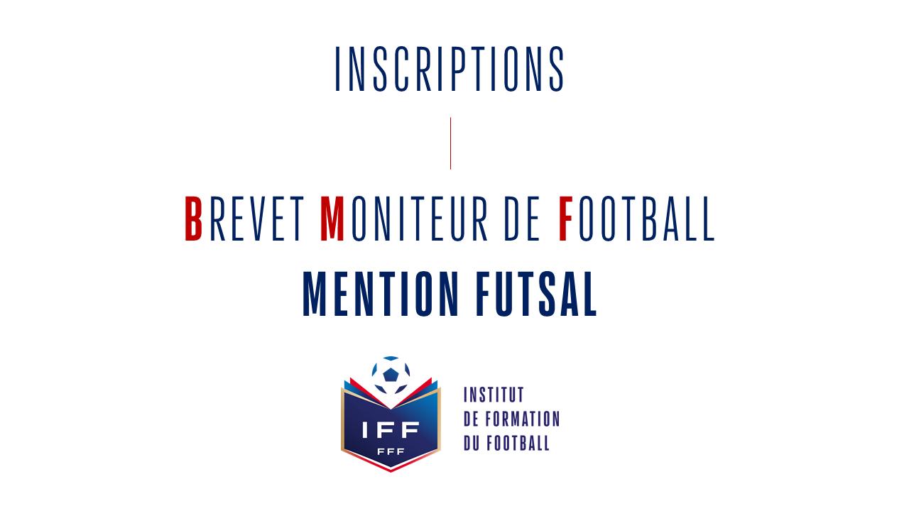 BMF Futsal inscription