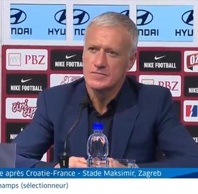 Le débrief des sélectionneurs après Croatie-France