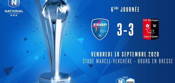 J6 | FBBP01 - US Boulogne (3-3)