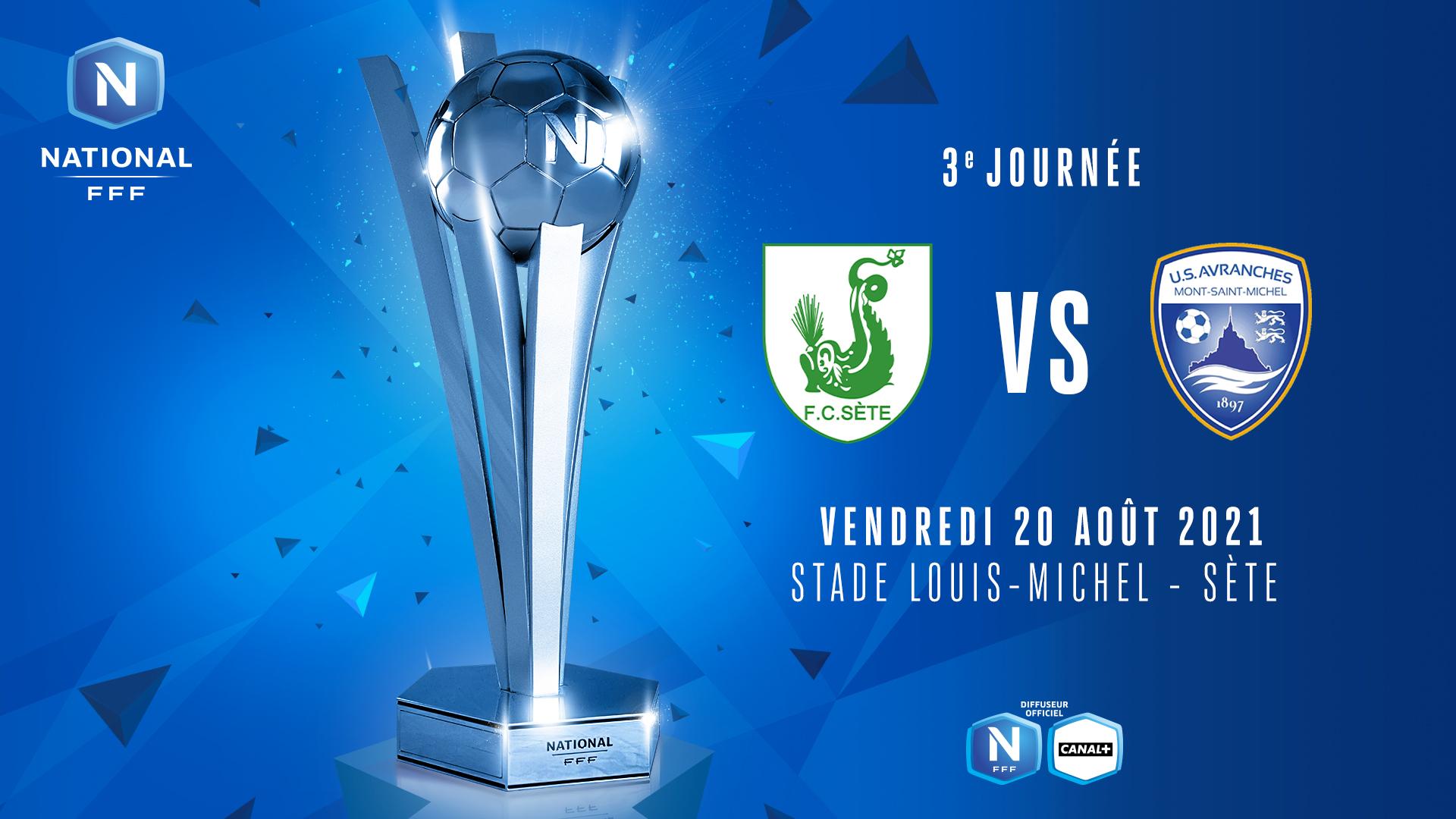 J3 I FC SÈTE - US AVRANCHES MSM EN DIRECT (18H50) !