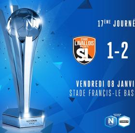 J17   Stade Lavallois - USCL (1-2)