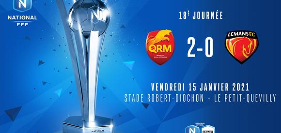 J18   QRM – Le Mans FC(2-0)