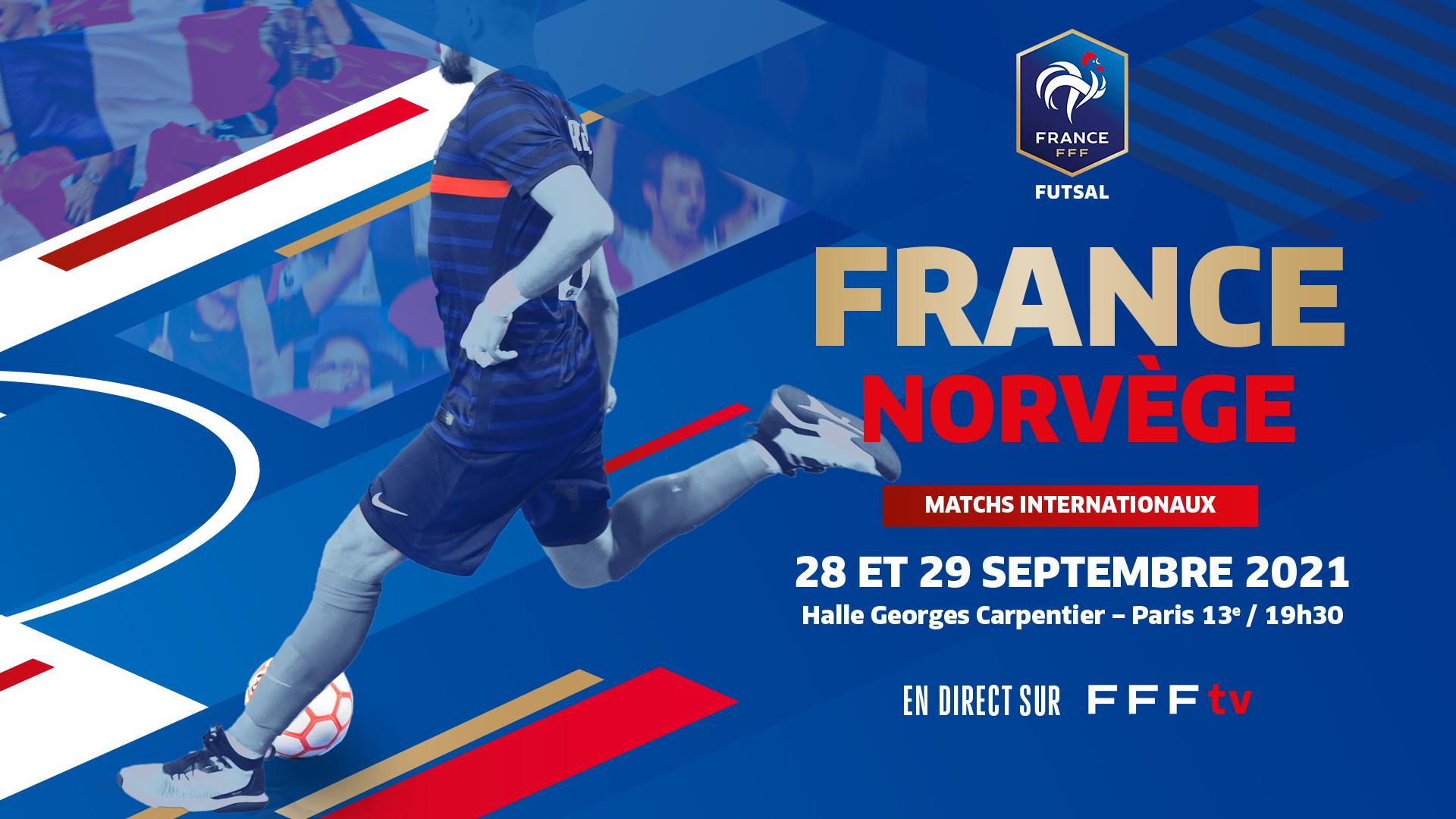 France-Norvège en direct