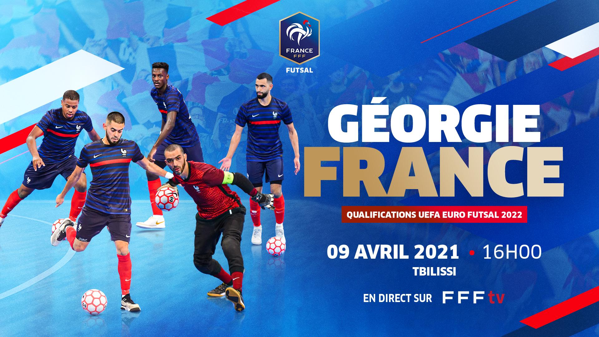 Géorgie-France en direct !