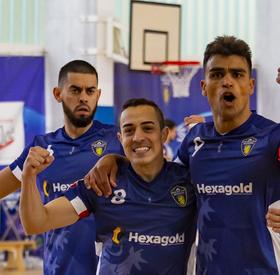 J4 : Nantes Métropole Futsal - Mouvaux Lille (1-6)
