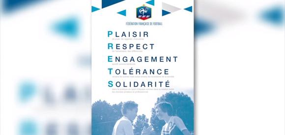 Les valeurs de la FFF : P.R.E.T.S