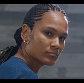 Portrait Bleue : Wendie Renard