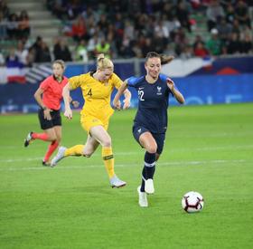 France - Australie (2-0)