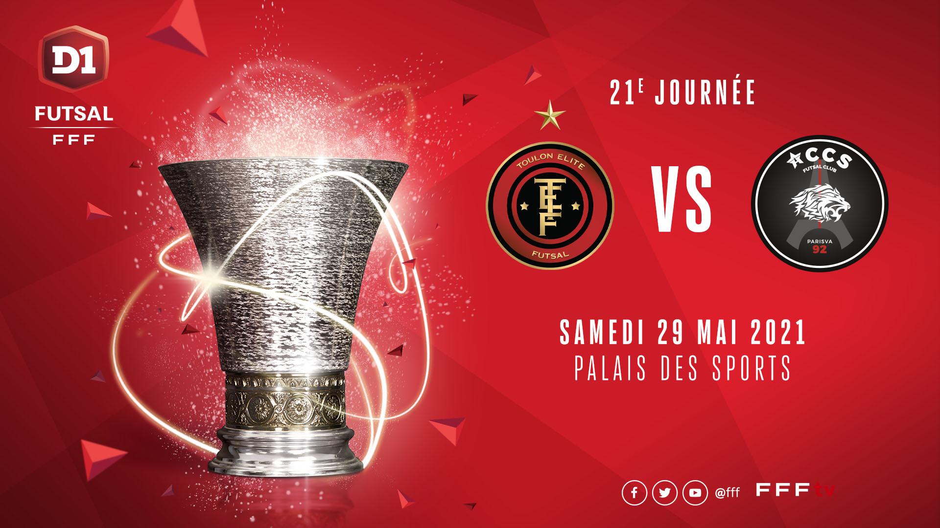 J21 : Toulon EF - ACCS en direct !