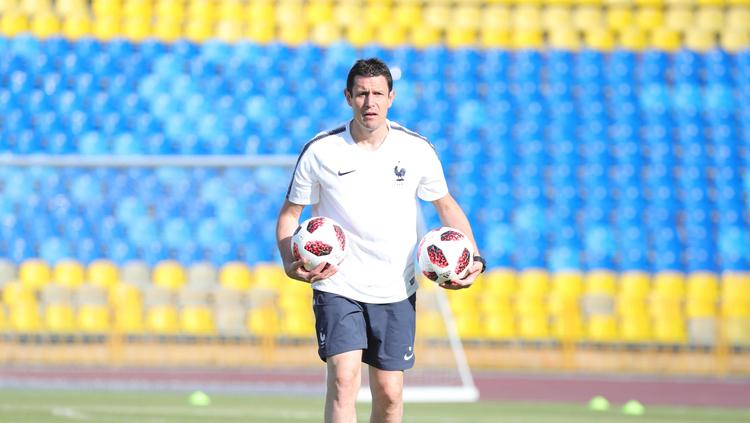 Franck Raviot, entraîneur des gardiens de but
