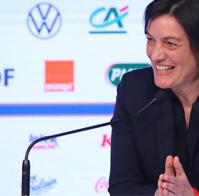 L'annonce de liste pour le Tournoi de France de Corinne Diacre