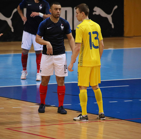 France-Ukraine (2-2), replay