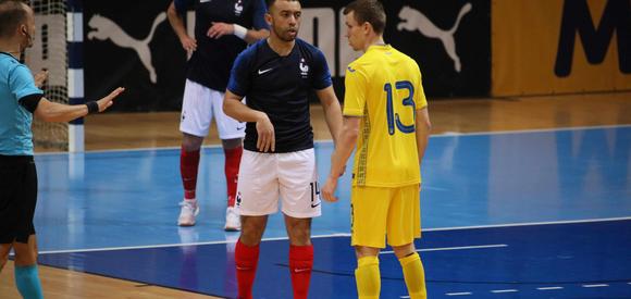 France-Ukraine (2-2), replay