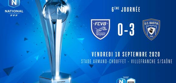 J6 I FC VILLEFRANCHE B. - SC BASTIA (0-3)