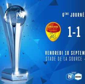 J6 | US Orléans – SC Lyon (1-1)