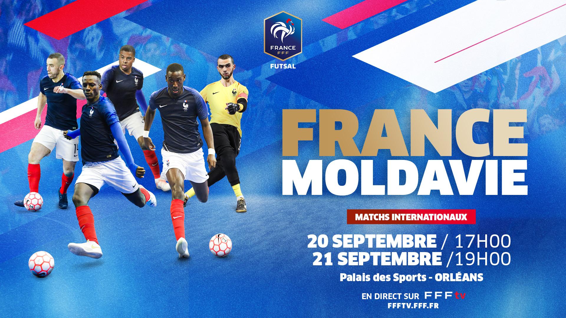 France - Moldavie en direct !