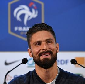 Giroud et Deschamps face aux médias