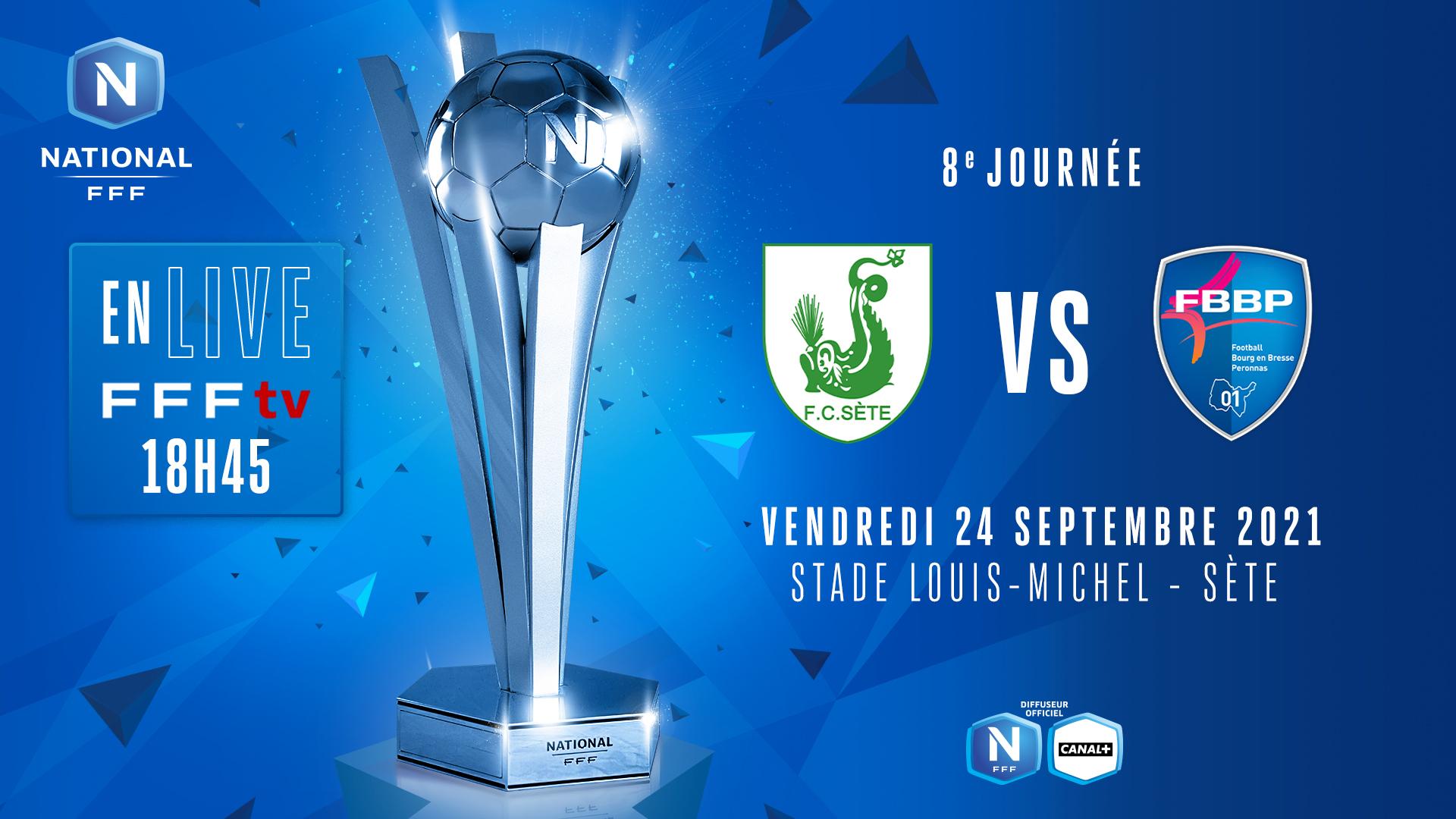 J7 I FC SÈTE - STADE BRIOCHIN EN DIRECT (18H45) !