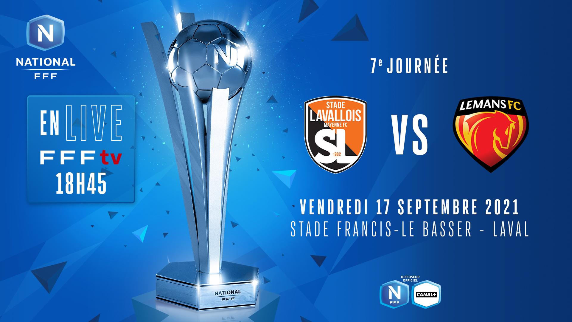 J7 I STADE LAVALLOIS - LE MANS FC EN DIRECT (18H45) !