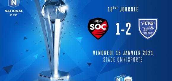 J18   SO Cholet - FC Villefranche Beaujolais (1-2)