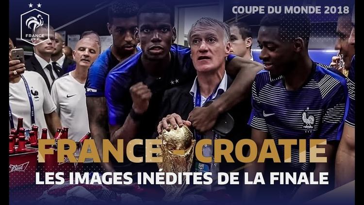 Les images inédites de la finale du Mondial 2018 !