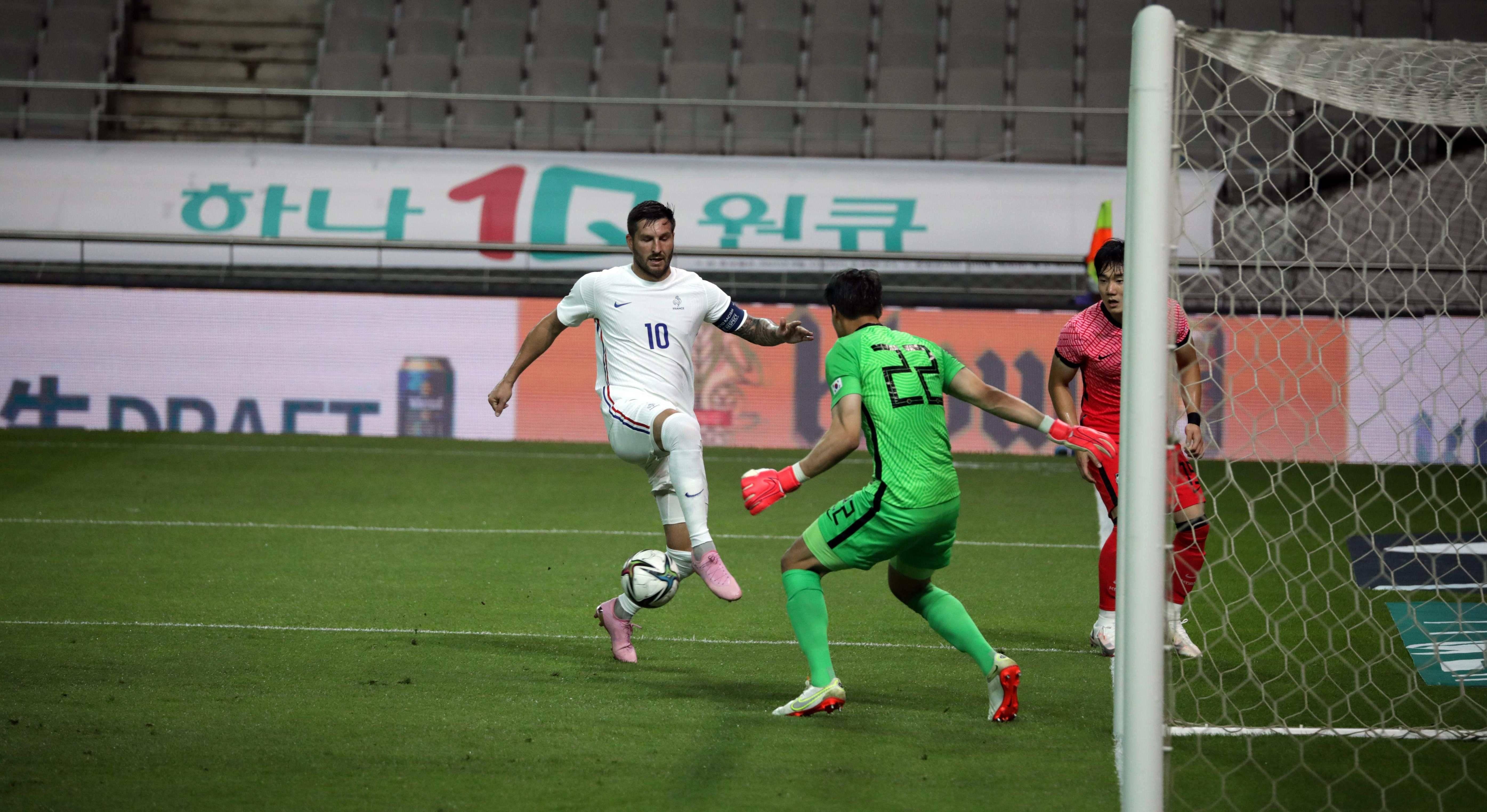 Corée du Sud-France Olympique (1-2)