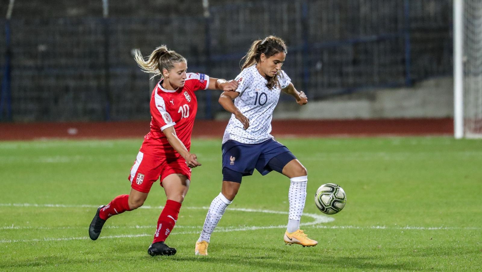 Serbie-France (0-2)