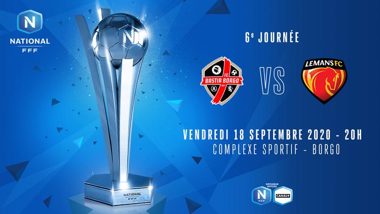 J6 | FC BASTIA BORGO - LE MANS FC EN DIRECT