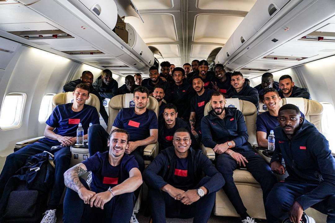 Le voyage des Bleus à Munich