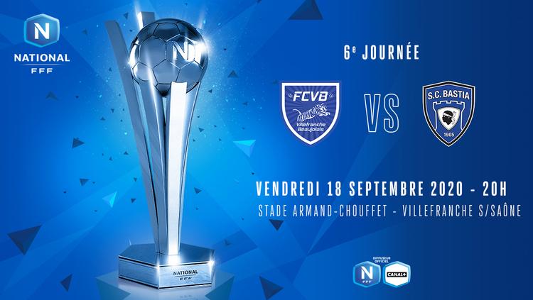 J6 | FC VILLEFRANCHE B - SC BASTIA EN DIRECT