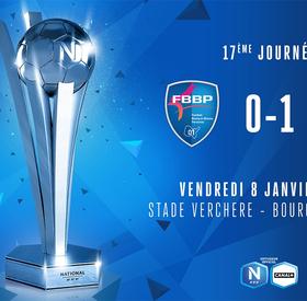 J17   FBBP01 - SC Lyon (0-1)