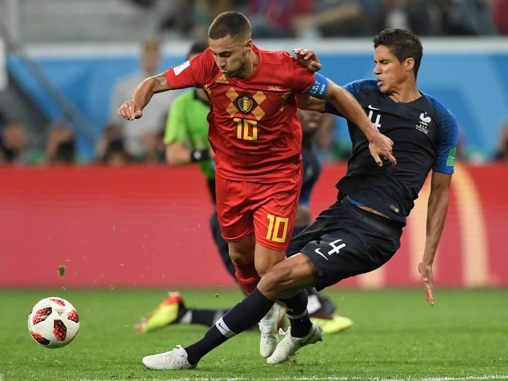 Belgique France Raphaël Varane