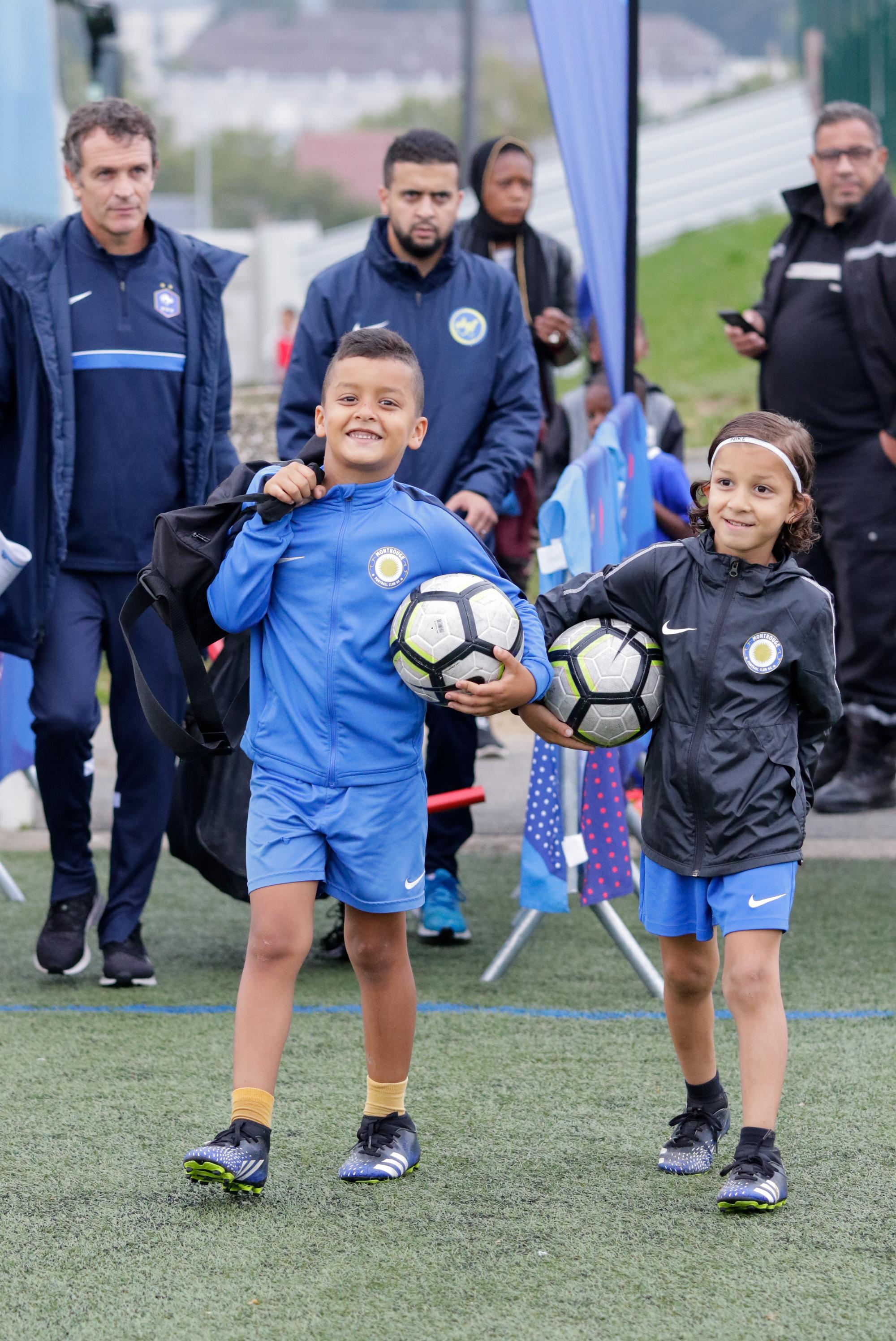 Jeunes Rentrée du foot