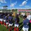 Les U19 françaises après leur succès sur l'Islande