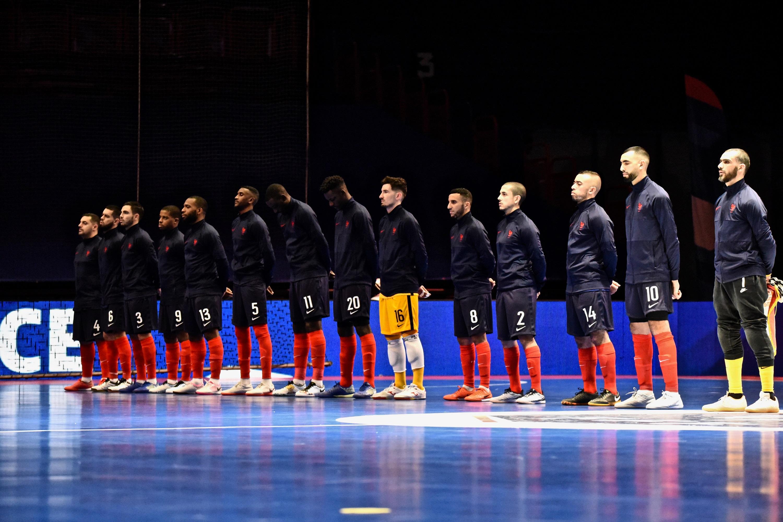 Equipe de France Futsal décembre 2020