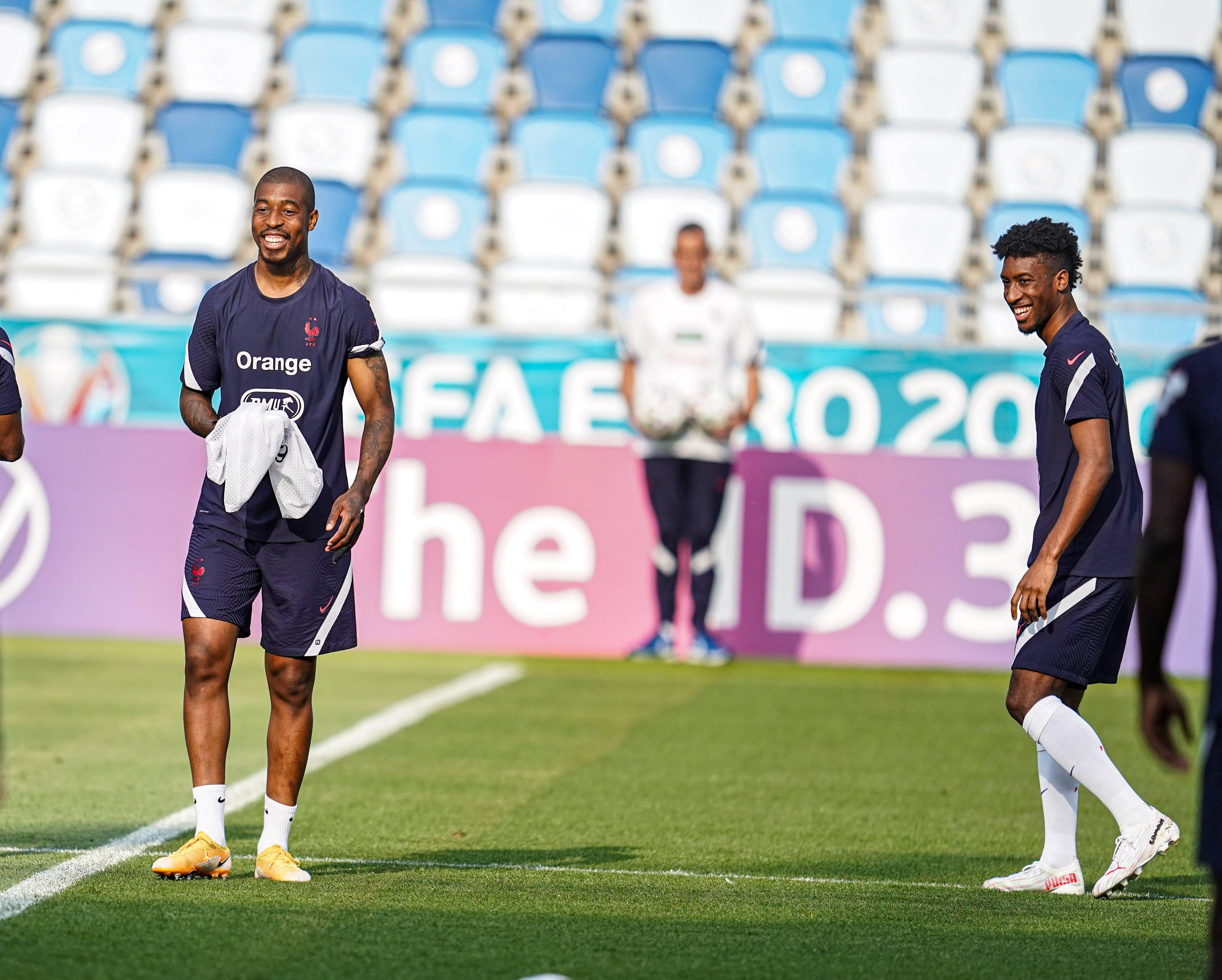 Presnel Kimpembe et Kingsley Coman