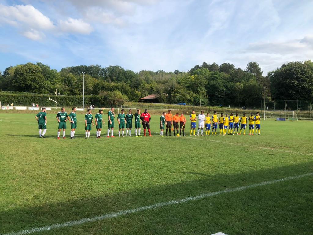 L'US Cerisiers contre le FC Gueugnon
