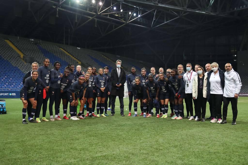 Équipe de France Féminine Nour-Soultan Kazakhstan