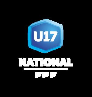 Logo championnat national U17 header mention blanche saison 2020 2021