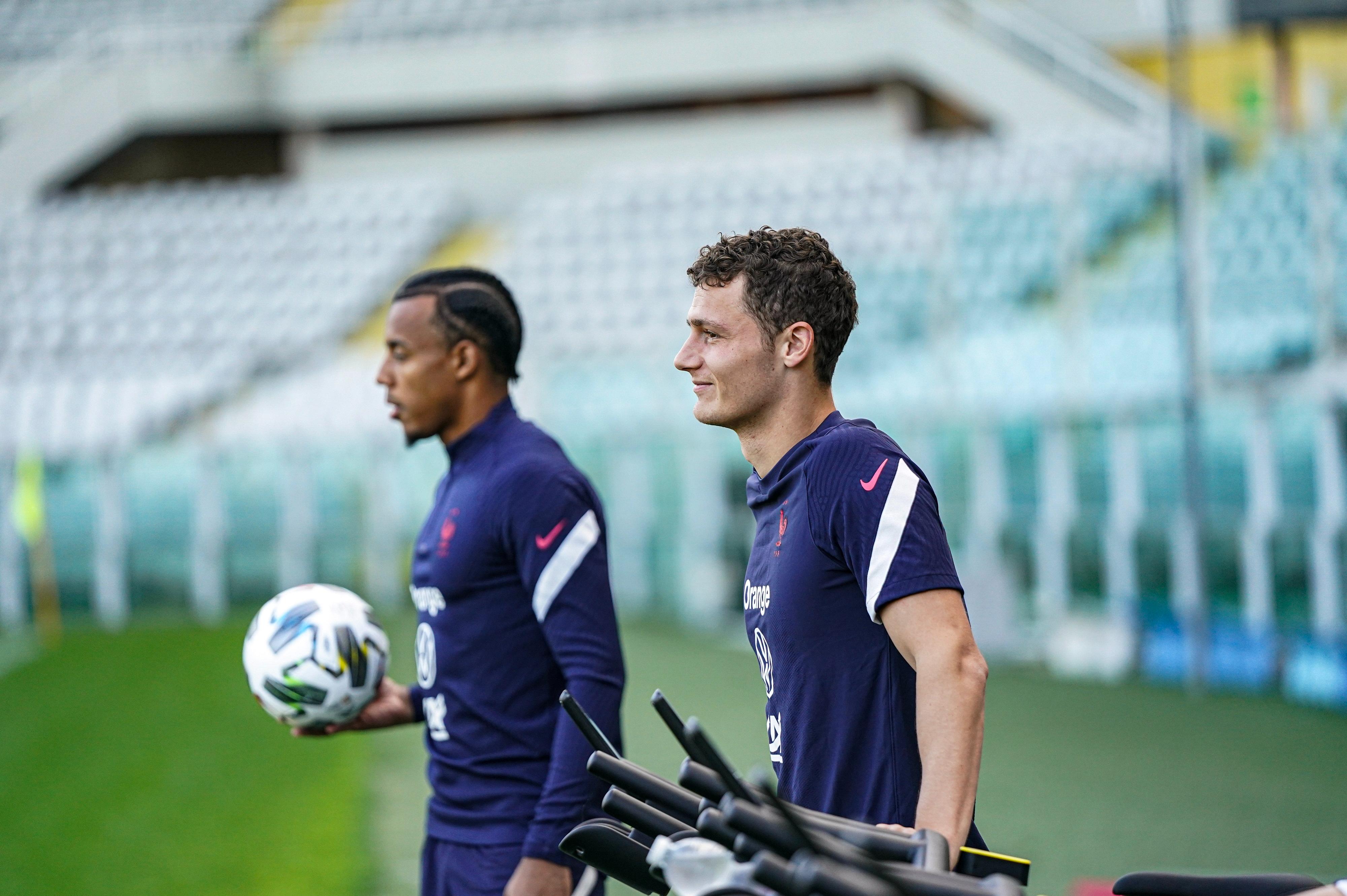 Jules Koundé et Benjamin Pavard