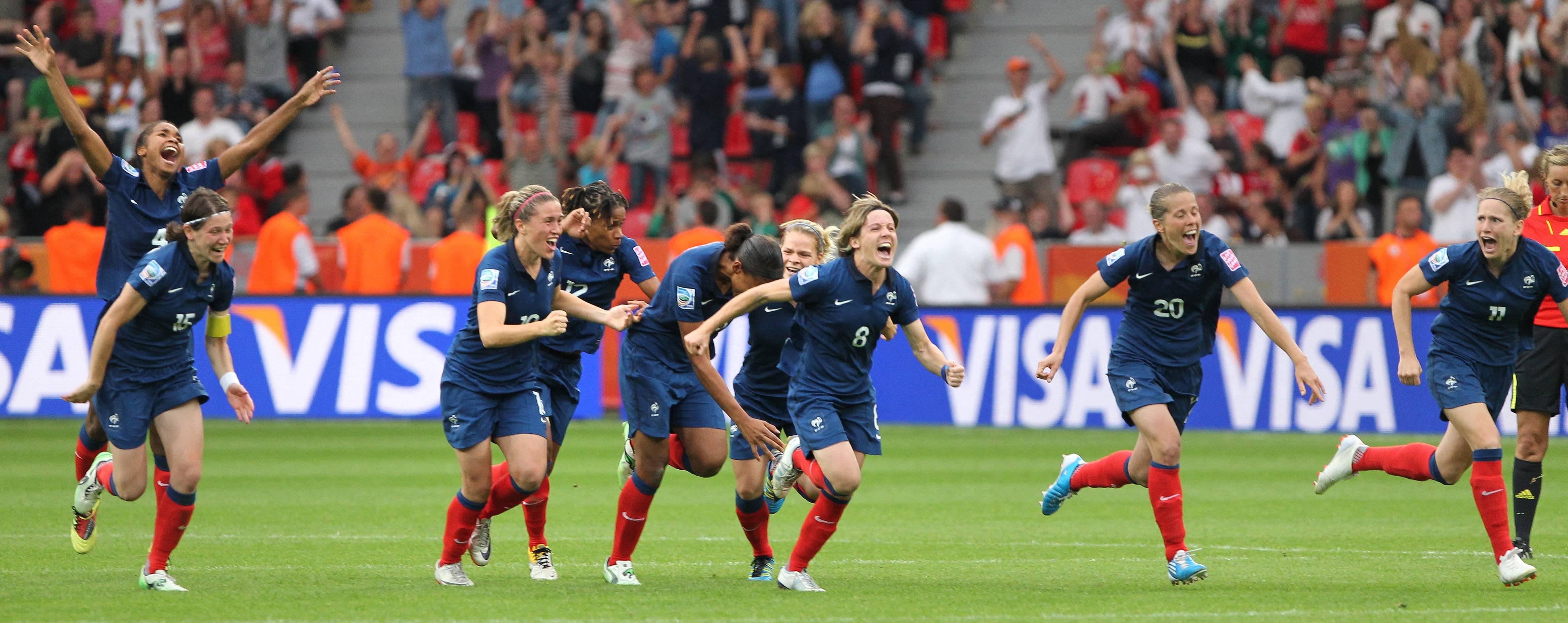 EDF Féminine France-Angleterre Coupe du monde 2011