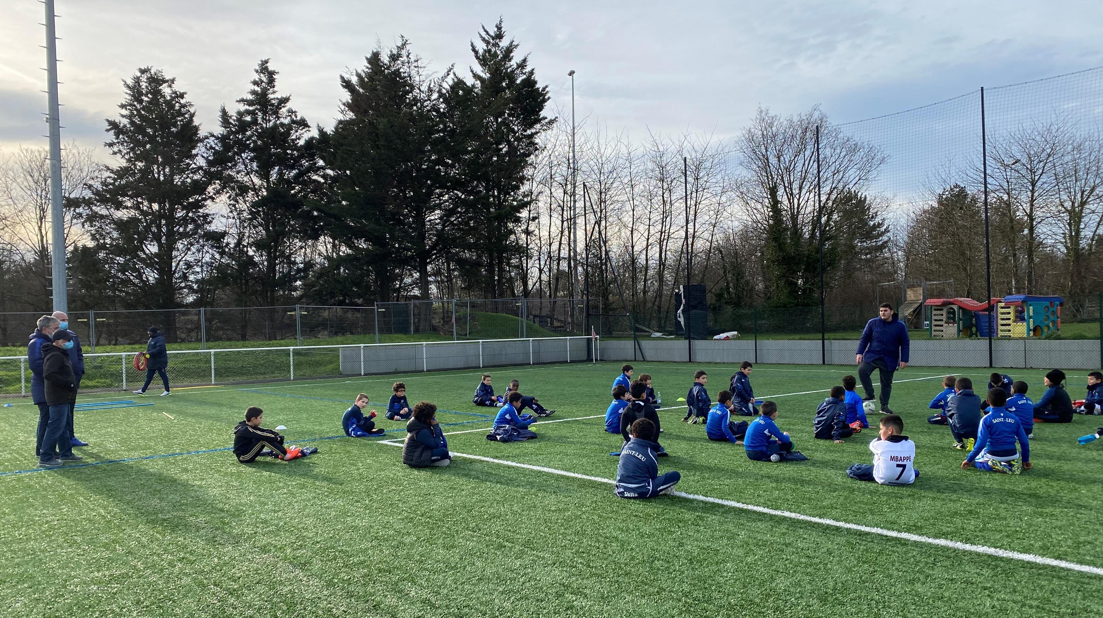 FC Saint-Leu 95 enfants football amateur COVID